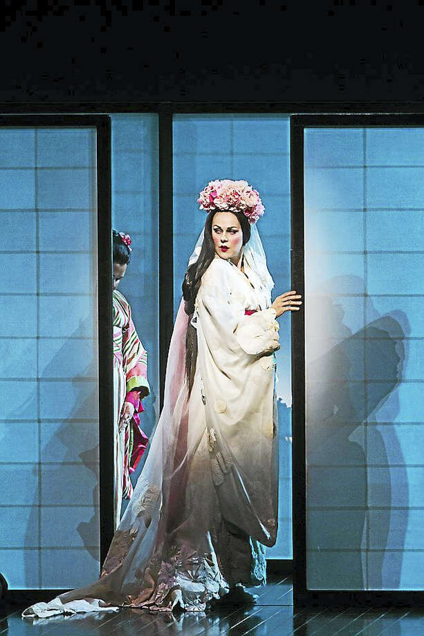 """Photos courtesy of the Metropolitan Opera Madama Butterfly will be presented live in HD from the Metropolitan Opera in New York City at the Warner's Nancy Marine Studio Theatre on April 2. One of the world's foremost Butterflys, soprano Kristine Opolais, takes on the title role of the spurned geisha. Photo: """"Marty Sohl/Metropolitan Opera"""" / """"Marty Sohl/Metropolitan Opera"""""""