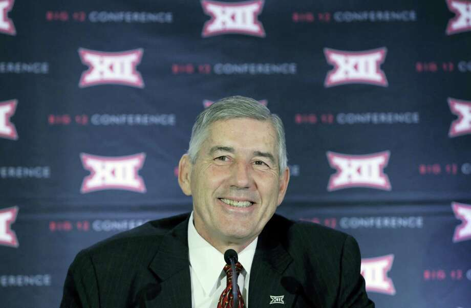 Big 12 commissioner Bob Bowlsby. Photo: LM Otero — The Associated Press  / Copyright 2016 The Associated Press. All rights reserved. This material may not be published, broadcast, rewritten or redistribu
