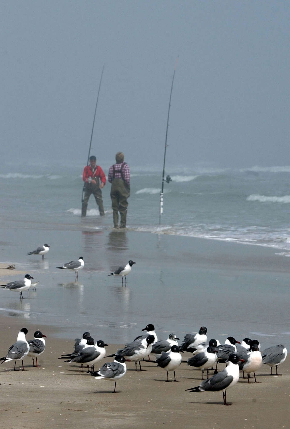 Fishing is an all-season sport on South Padre Island.