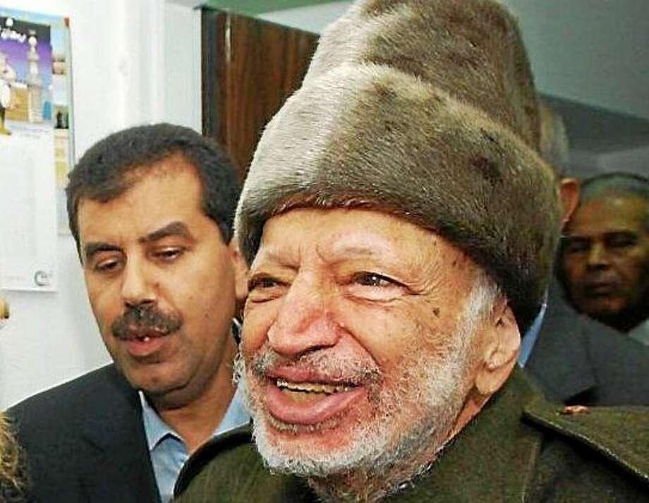 Yasser Arafat shortly before his death Photo: AP Photo