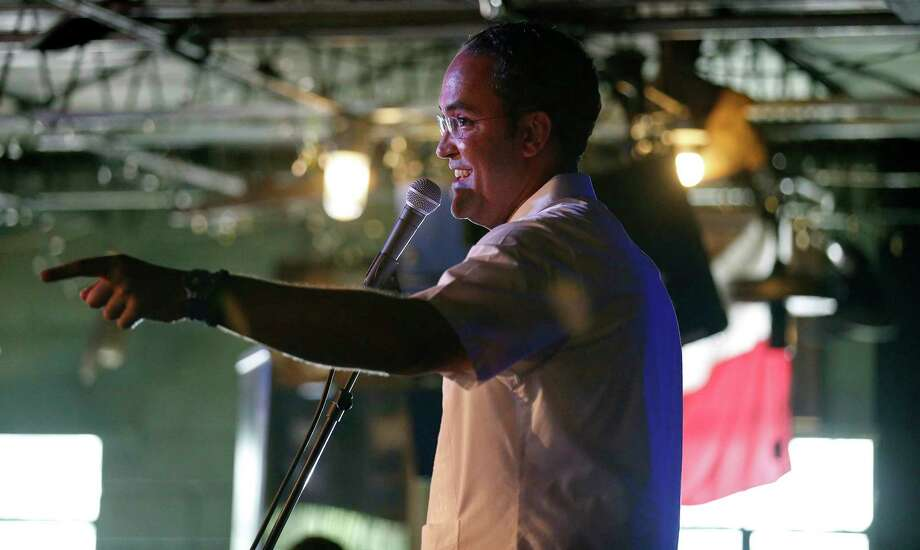 U.S. Rep. Will Hurd, R-Helotes, speaks during the final stop of his third annual DC2DQ town hall meetings held Saturday Aug. 12, 2017 at John T. Floore's Country Store. Photo: Edward A. Ornelas, Staff / © 2017 San Antonio Express-News