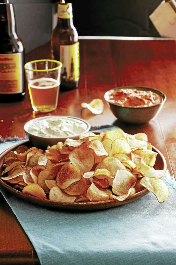 Homemade potato chips are just better than what you buy at the store. Photo: Photo Courtesy Of Scott Phillips