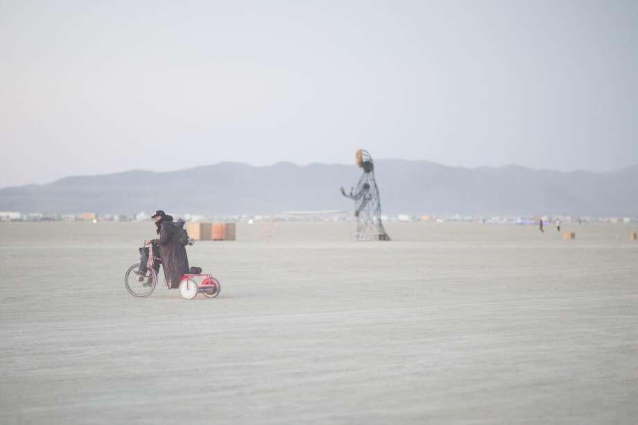 nude yoga and desert