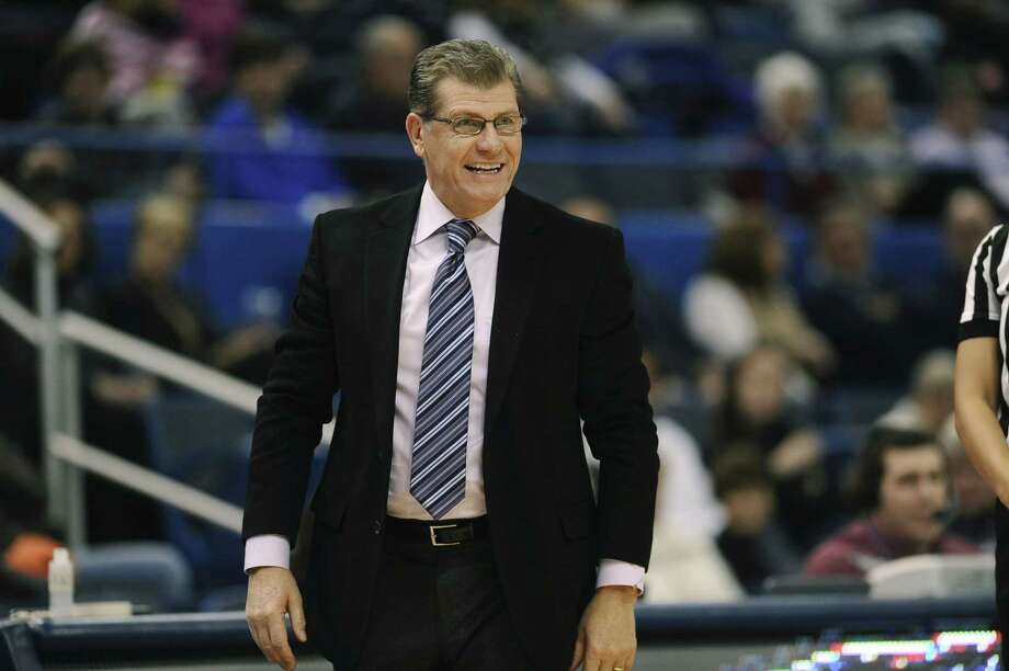 Coach Geno Auriemma and UConn will face St. Francis (N.Y.) in the opening round of the NCAA tournament. Photo: Jessica Hill —  The Associated Press  / AP2015