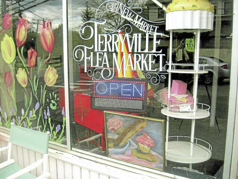 Terryville Flea Market on Main Street. Photo: Journal Register Co.