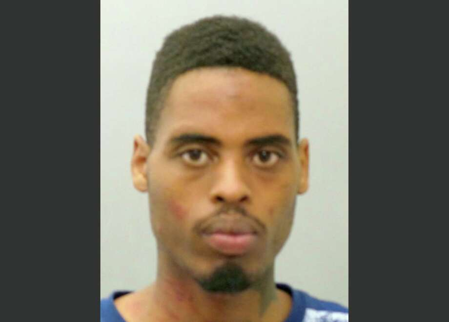 This photo provided by the St. Louis County Police Department on Sunday, March 15, 2015 shows Jeffrey Williams. Williams, 20, is charged with two counts of first-degree assault, one count of firing a weapon from a vehicle and three counts of armed criminal action in connection with the shooting of two police officers who were keeping watch over a demonstration outside the Ferguson Police Department on March 12. Photo: (AP Photo/St. Louis County Police Department) / St. Louis County Police Department