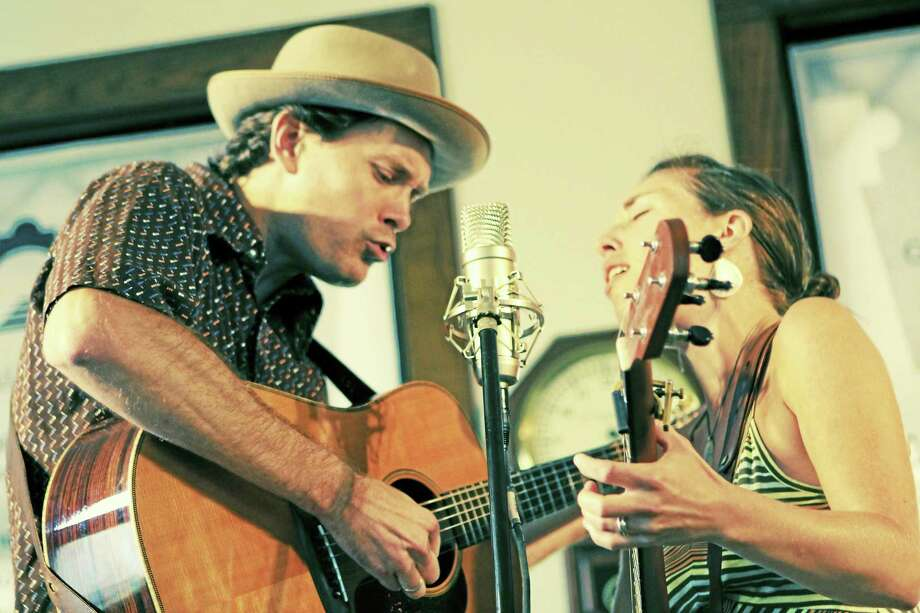 The Honey Dewdrops, a husband-and-wife duo, will perform at Acoustic Music in Guilford tonight. Photo: Photo Courtesy Of Trisha Bunce  / SoonerScoop.com