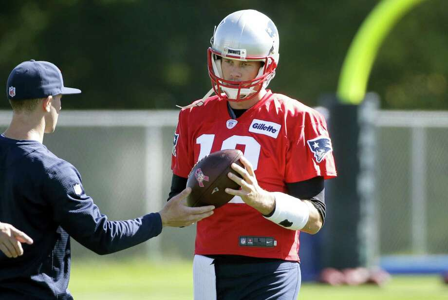 Patriots quarterback Tom Brady is back this week after serving a four-game suspension. Photo: Steven Senne — The Associated Press  / AP