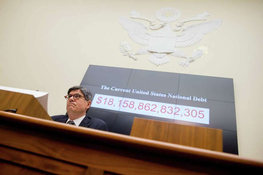 Treasury Secretary Jacob Lew testifies before a House Financial Services committee hearing on the annual report of the Financial Stability Oversight Council on Capitol Hill in Washington on June 17. Photo: AP Photo  / AP