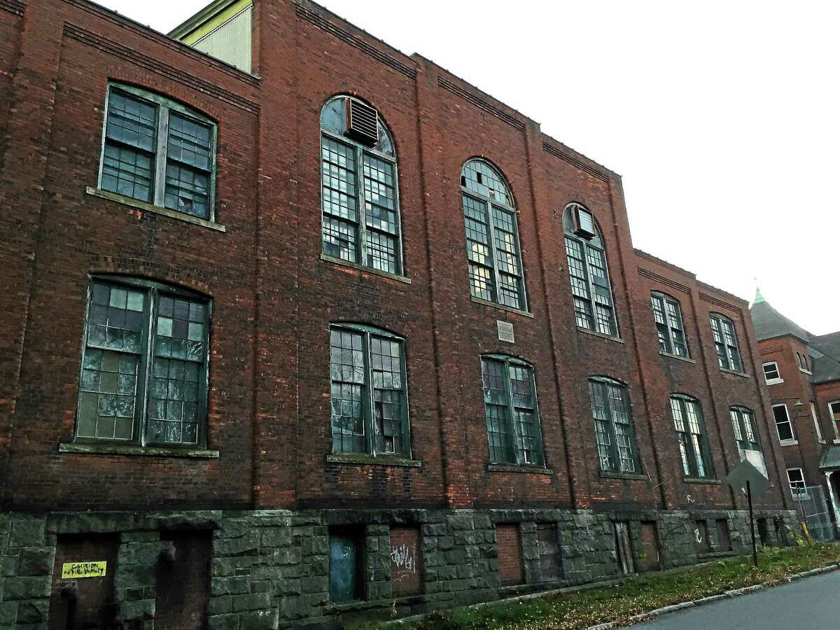 One of the buildings at the former Hendey Machine Company site, included as part of a grant application for state funds to develop a strategy for city brownfields.