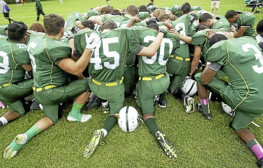 Contributed photoFour area prep schools are switching to 8-man football teams on a two-year trial basis. Photo: Journal Register Co.
