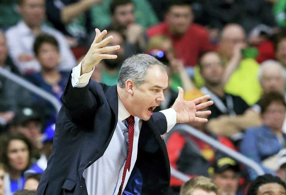 Stony Brook coach Steve Pikiell has been hired as the new coach at Rutgers. Photo: Nati Harnik — The Associated Press  / Copyright 2016 The Associated Press. All rights reserved. This material may not be published, broadcast, rewritten or redistributed without permission.