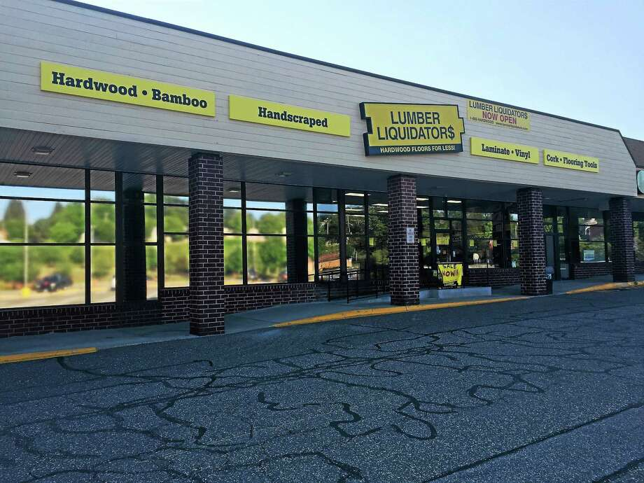 Lumber Liquidators opened last Saturday at its new location on HighStreet in Torrington. Photo: Contributed Photo