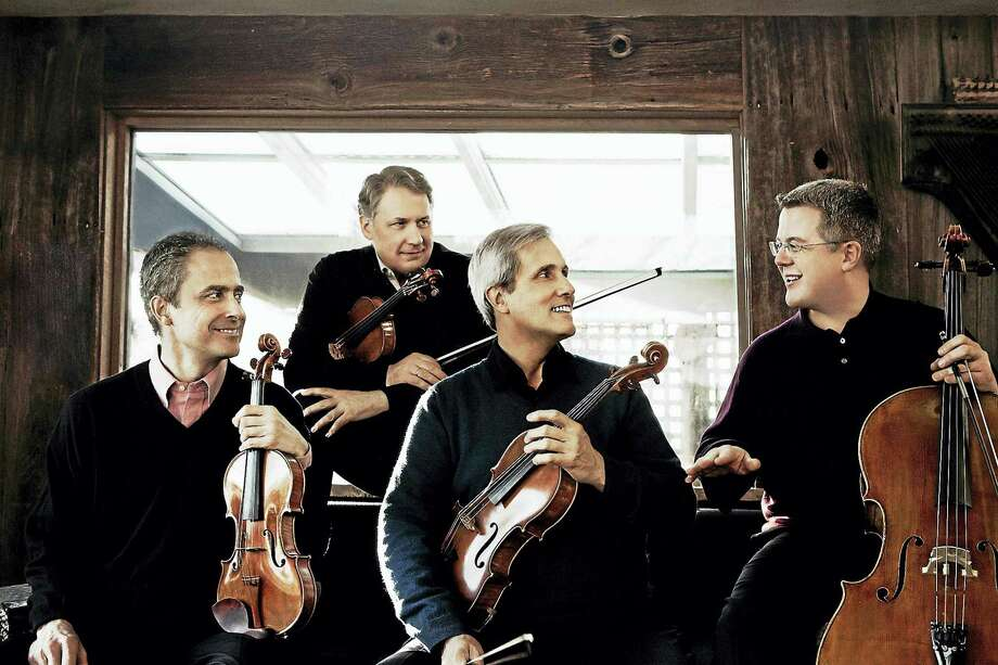 Contributed photos The Emerson String Quartet opens the 87th season of Music Mountain's summer music festival, performing Sunday, June 5 at the Falls Village venue. Photo: Journal Register Co.