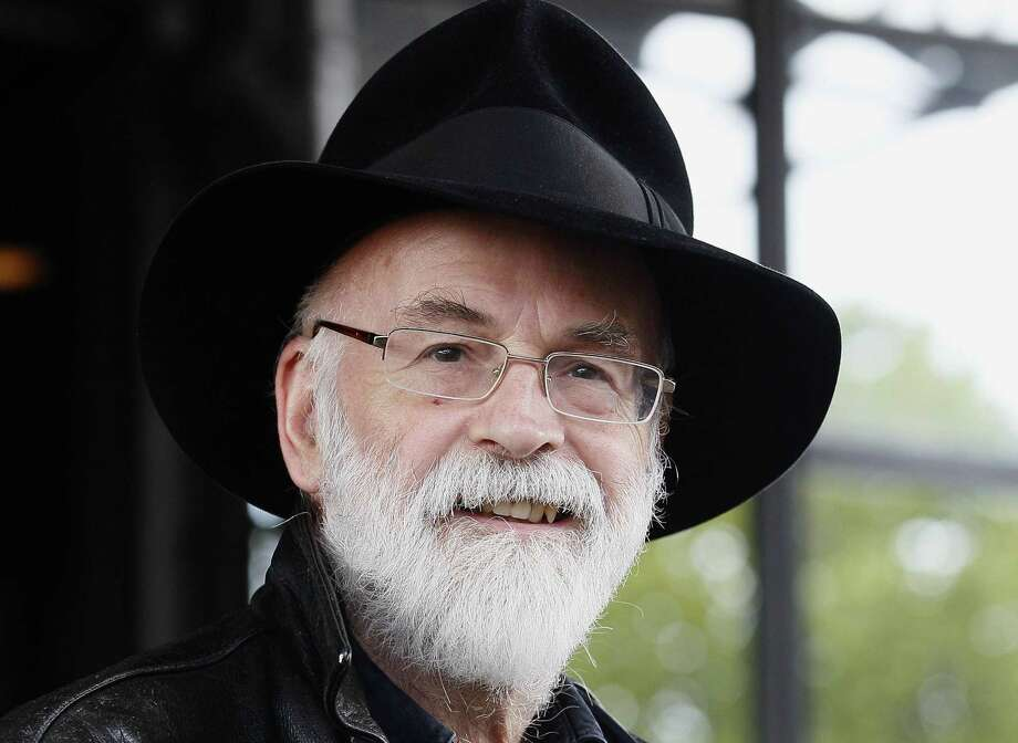 In this 2010 file photo, British author Terry Pratchett is seen at the Conservative party conference in Birmingham, England. Photo: Associated Press  / AP