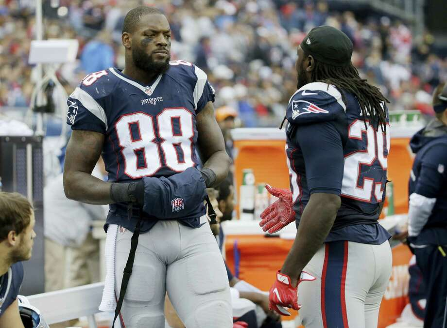 New England Patriots tight end Martellus Bennett (88). Photo: The Associated Press File Photo  / AP