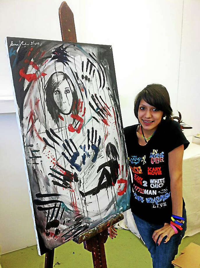 Contributed photoWorks of art by mentors of art garage will be displayed at the gallery in Falls Village this weekend. Photo: Journal Register Co.