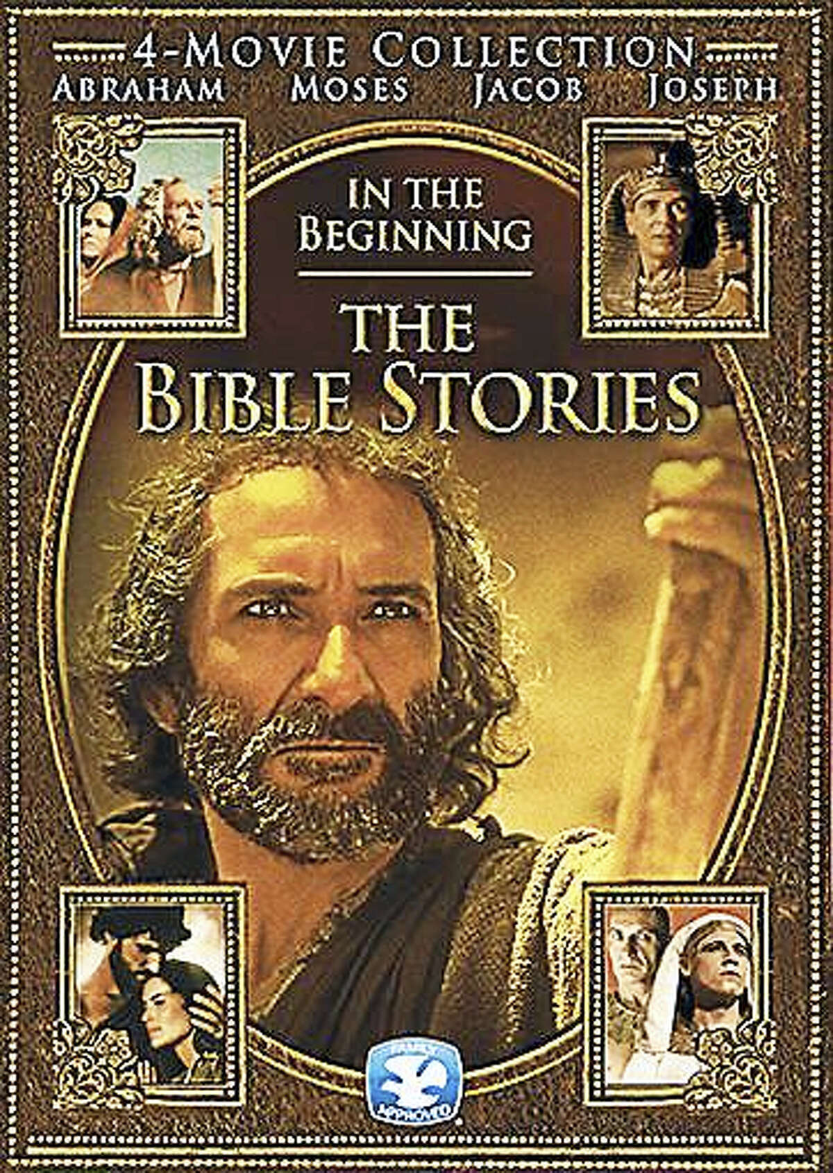 """One of the DVDs of """"The Bible Stories."""""""