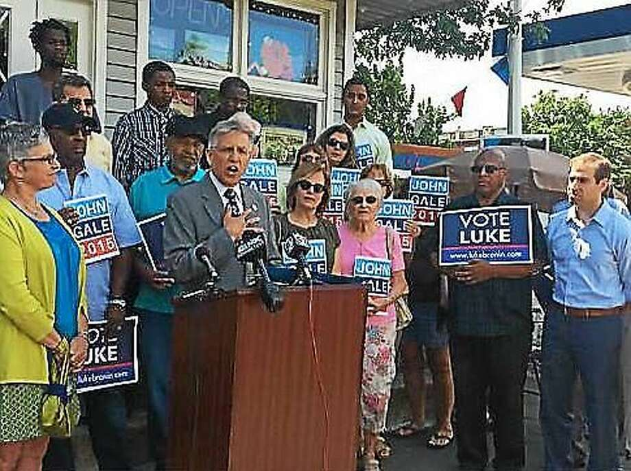 John Gale drops out of the Hartford mayor's race Photo: Madeline Stocker Photo, CTNewsJunkie.com