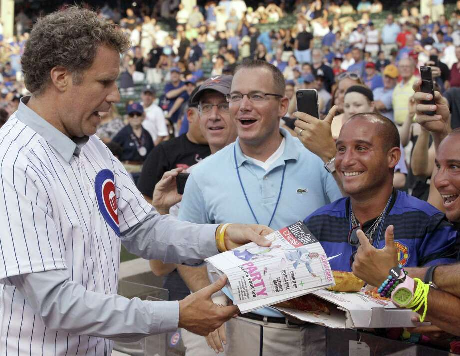 Comedian Will Ferrell will appear in at least two Arizona spring training games on Thursday. Photo: Nam Y. Huh — The Associated Press  / AP
