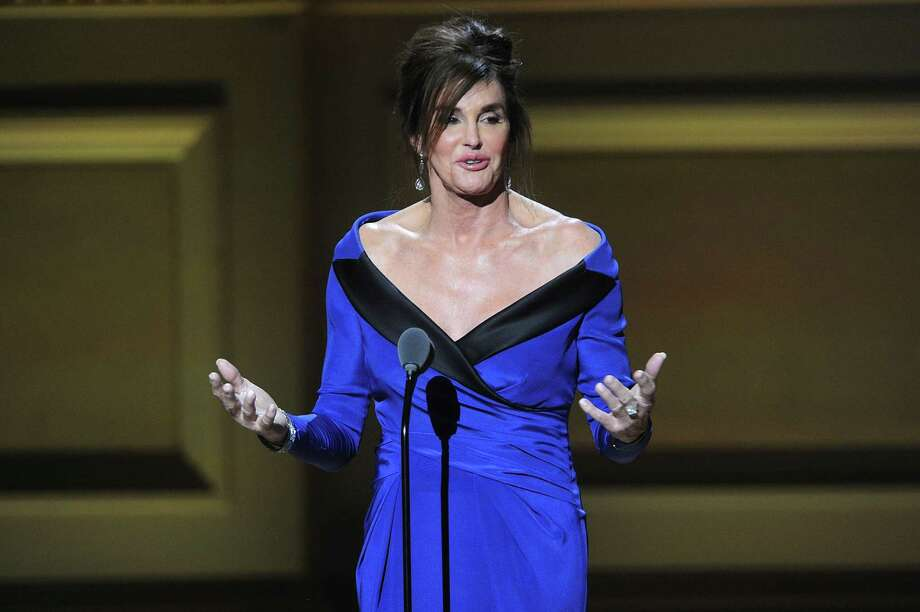 Caitlyn Jenner accepts The Transgender Champion award at the 25th Annual Glamour Women of the Year Awards at Carnegie Hall on Monday, Nov. 9, 2015, in New York. Photo: Photo By Brad Barket/Invision/AP   / Invision