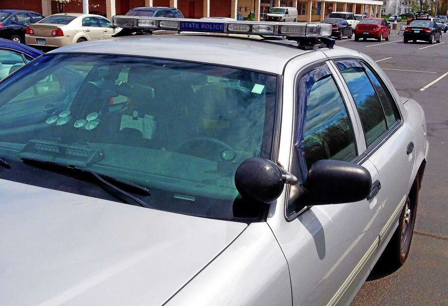 A Connecticut State Police vehicle. Photo: File Photo