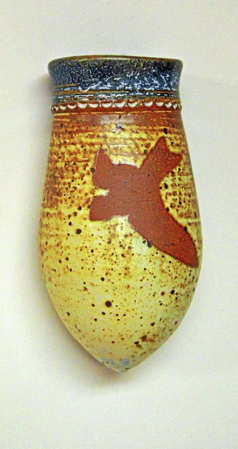 Contributed photos A wall pot by Avis Cherichetti. Photo: Journal Register Co.