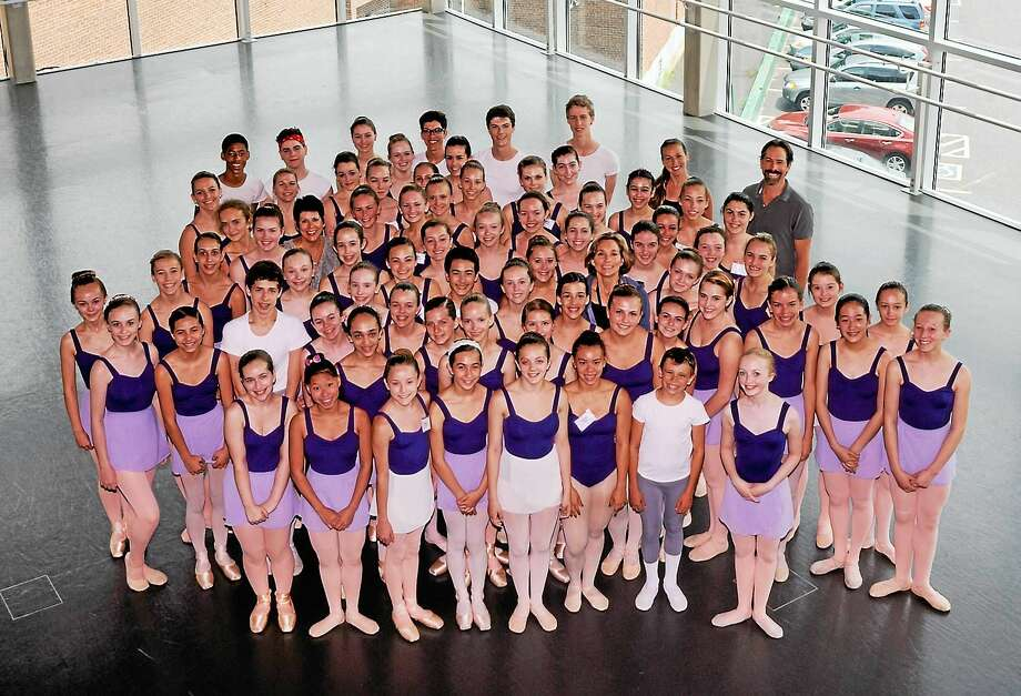 Photo courtesy of Nutmeg Ballet Students are preparing for Nutmeg's Summer Dance Festival, which will be held at the Warner's Nancy Marine Studio Theater July 24-25. Photo: Journal Register Co. / (c) DON PERDUE