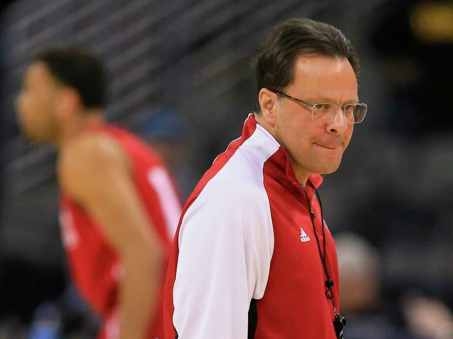 The hottest seat in college basketball this season belongs to Indiana's Tom Crean — just like last season. Photo: The Associated Press File Photo  / AP