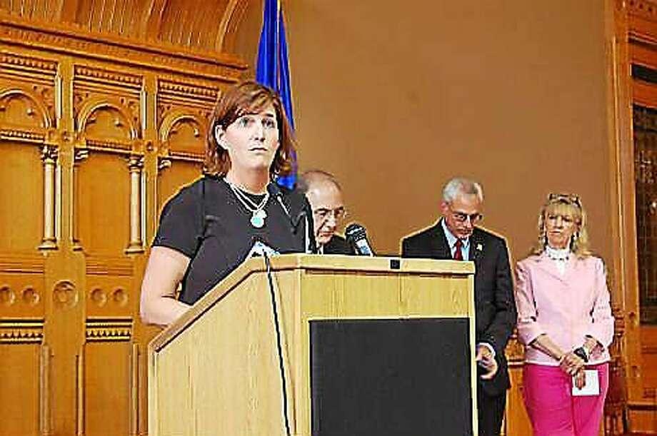 Karen Jarmoc will co-chair the new task force. Photo: MADELINE STOCKER PHOTO, CTNewsJunkie.com