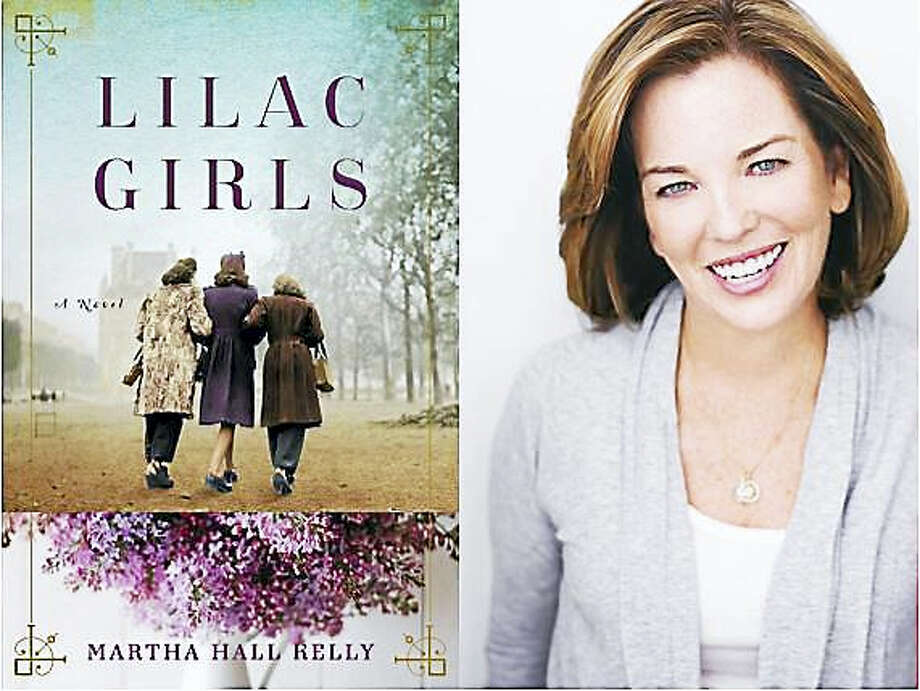 Contributed photos Author Martha Hall Kelly will discuss her new book, Lilac Girls, at the Gunn Memorial Library in Washington on Oct. 23. Photo: Journal Register Co.