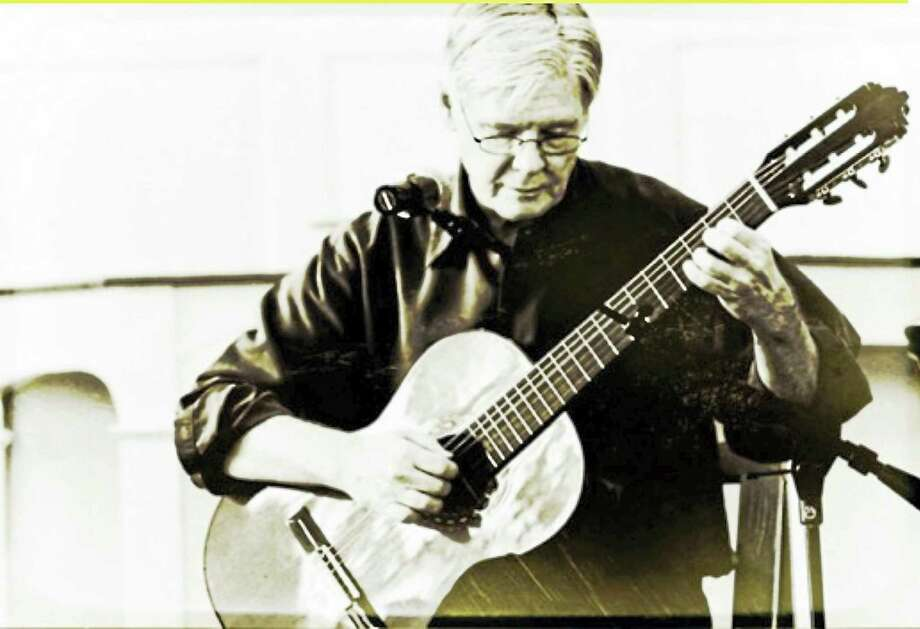 Contributed photoGuitarist Robert Griggs performs at the First Congregational Church in Torrington Sunday, Oct. 16. Photo: Journal Register Co.