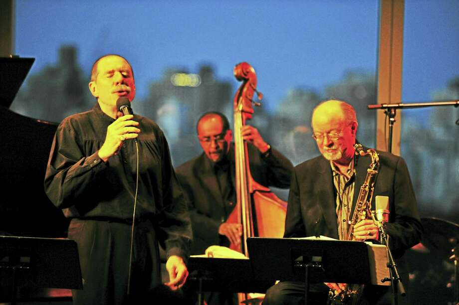 Contributed photoGiacomo Gates performs at the Poli Club March 18. Photo: Journal Register Co.