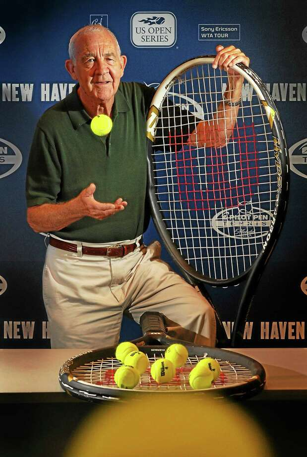 Former New Haven tennis tournament CEO Mike Davies, who died on Monday at the age of 79, was one of great innovators of the game. Photo: Peter Hvizdak — Register File Photo
