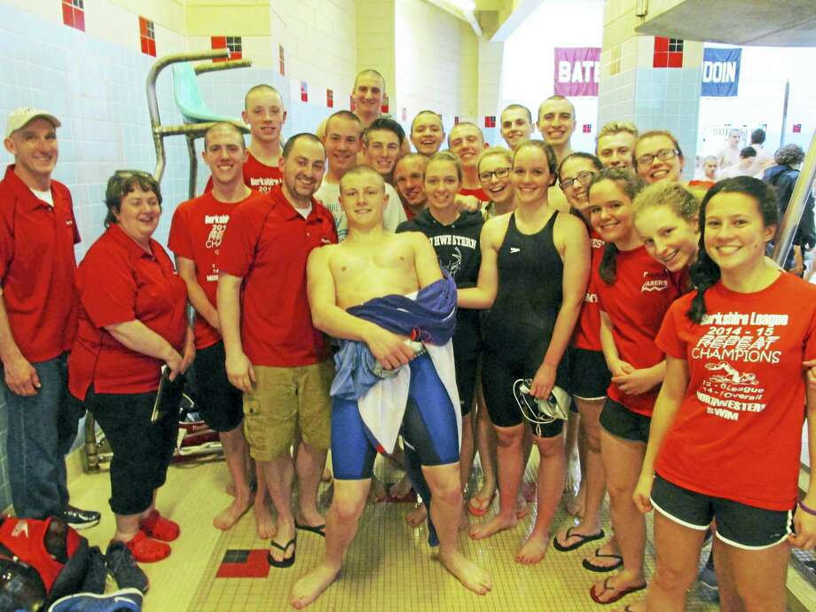 Northwestern's swimming and diving team finished in fourth place at the Class S championships on Tuesday. Photo: Peter Wallace — Register Citizen