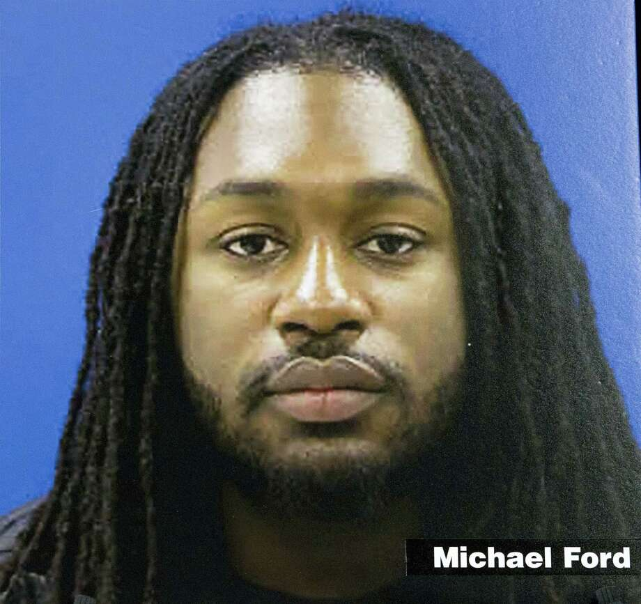 This image provided by the State of Maryland shows Michael Ford, one of the three suspects involved in the shooting of Prince George's County police officer Jacai Colson. The gunman, Michael Ford, 22, was expected to survive, along with his brothers Malik, 21, and Elijah, 18. All three have been arrested and will face dozens of charges among them, according to police. Photo: State Of Maryland Via AP   / FR159526 AP