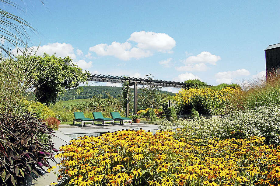 Contributed photo - Garden Conservancy Hyland/Wente Garden, 95 Taylor Road, Millerton, New York, is one of the five locations selected for this weekend's Open Days garden tours. Other locations include Lakeville and Washington. Photo: Journal Register Co.