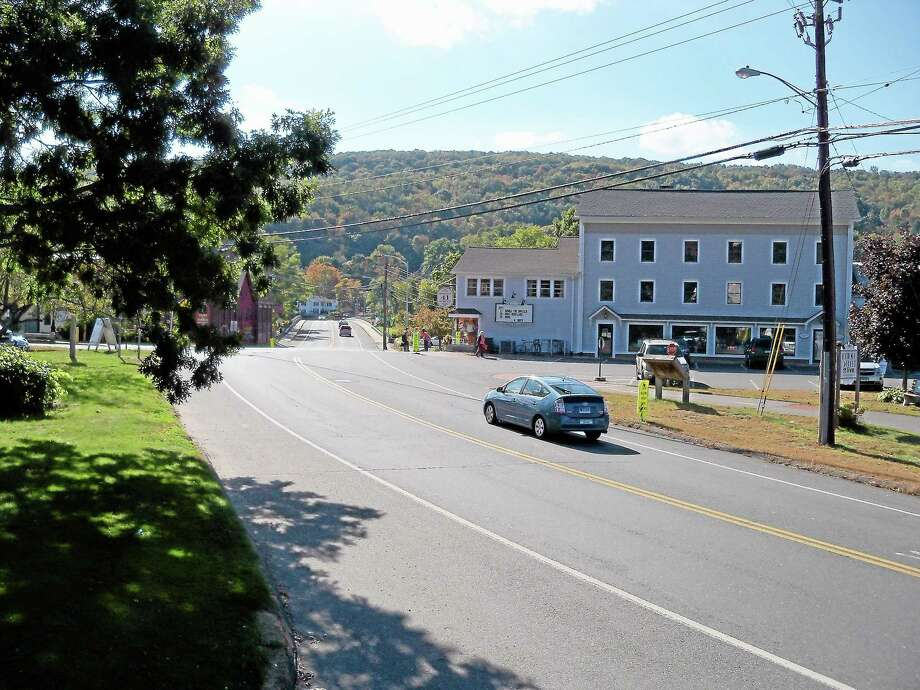 Bridge Street (Route 179) in Canton Photo: Register Citizen File Photo
