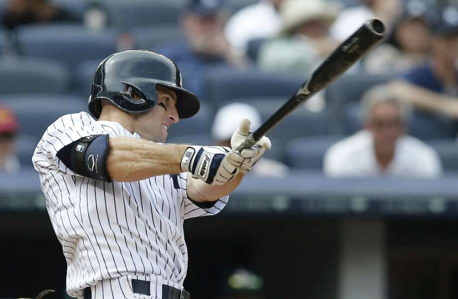 New York Yankees outfielder Brett Gardner was named to the all-star team on Thursday. Photo: Kathy Willens — The Associated Press  / AP