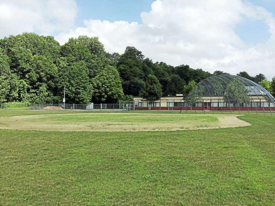 Ben Lambert - The Register Citizen  A softball field at Torrington High School, as seen Thursday. Photo: Journal Register Co.