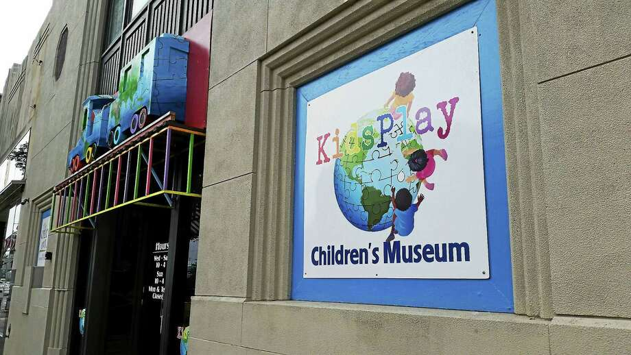 The KidsPlay Museum will expand into the adjacent building located at 69 Main St. Photo: Amanda Webster — The Register Citizen