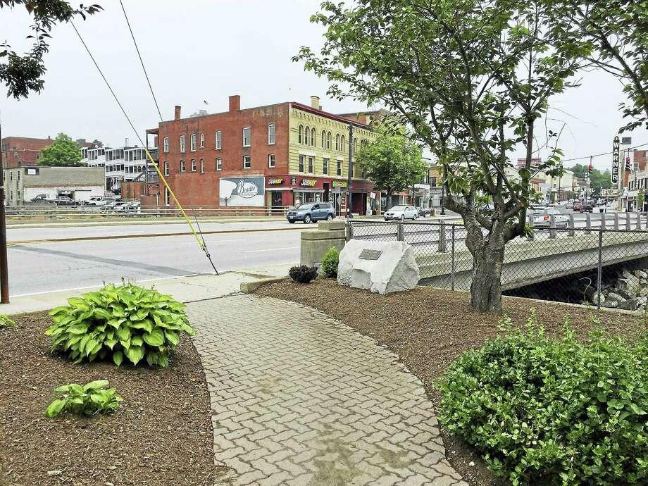 Center Bridge is expected to undergo a series of cosmetic upgrades. Photo: BEN LAMBERT — The Register Citizen
