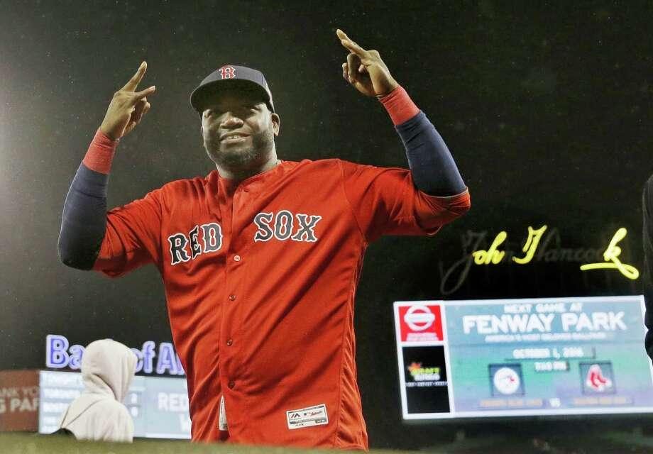 Red Sox designated hitter David Ortiz. Photo: The Associated Press File Photo  / AP