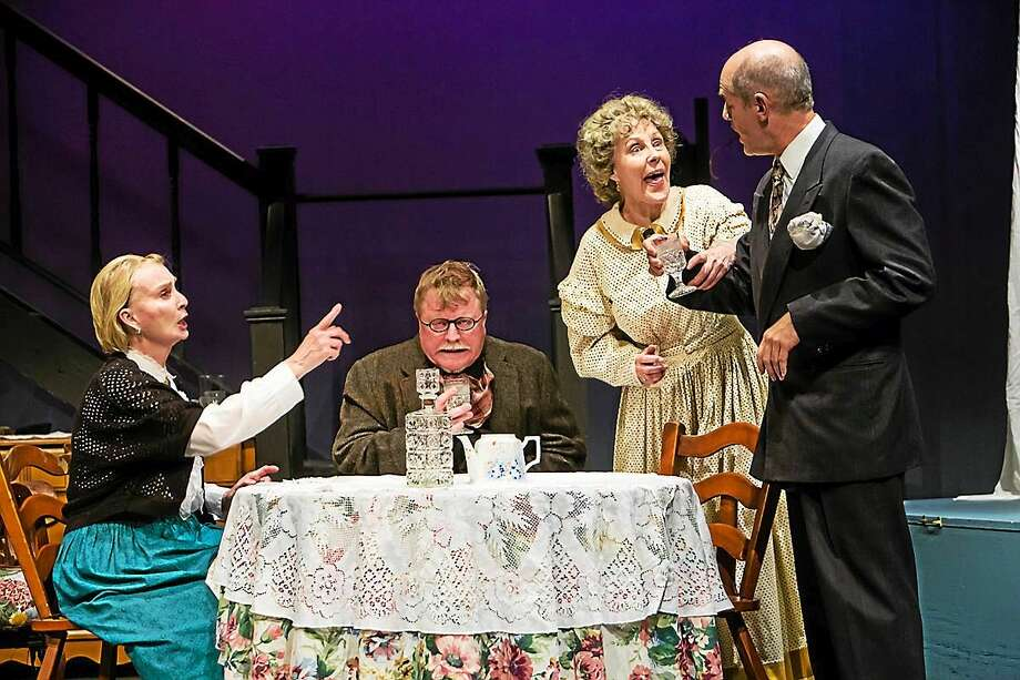 "Contributed photo A scene from ""Arsenic and Old Lace"" at the Sherman Playhouse. Photo: Journal Register Co."