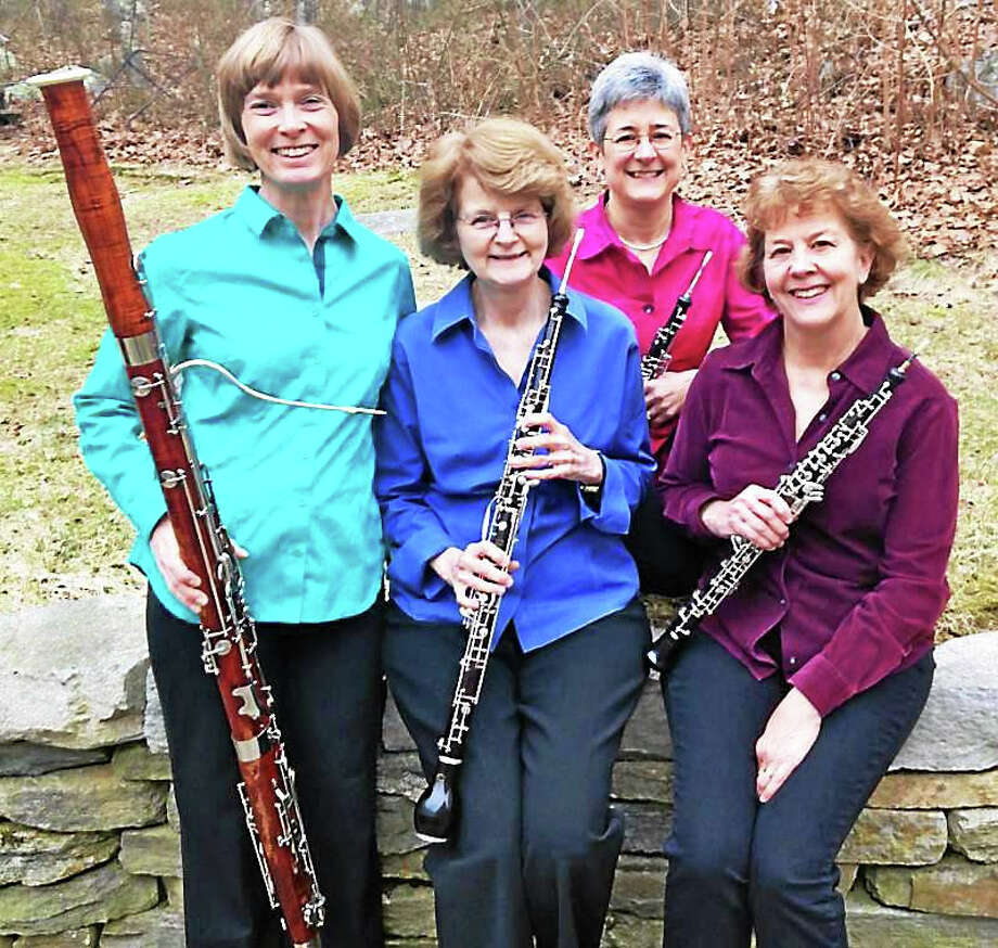 Contributed photo The Laurel Double Reed Ensemble performs at the Congregational Church of Burlington on Route 4 on Sunday, Nov. 8 at 3 p.m.Call 860-673-4618 for more information. Photo: Journal Register Co.