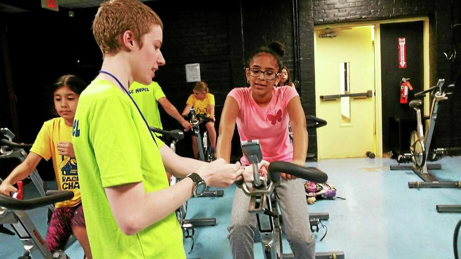 Athletes train at the Torrington YMCA for the upcoming Race 4 Chase Triathlon. Photo: Amanda Webster — The Register Citizen
