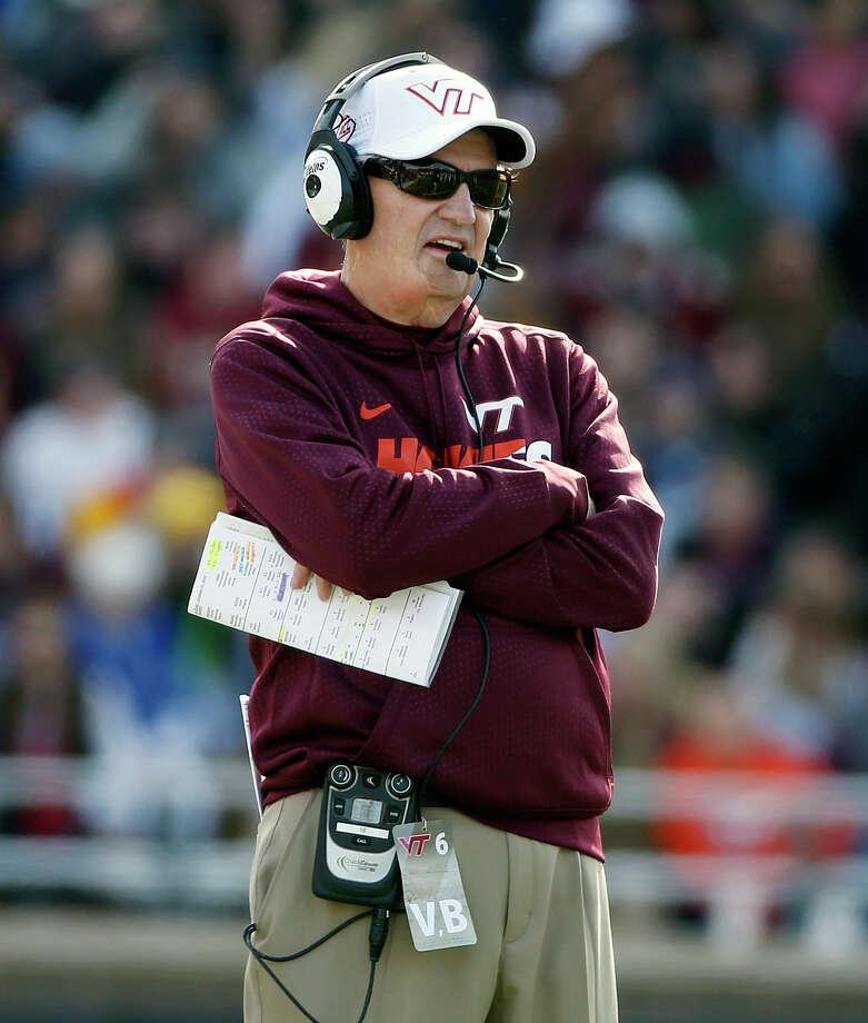 Virginia Tech head coach Frank Beamer announced Sunday he would retire after this season. Photo: Michael Dwyer — The Associated Press  / AP