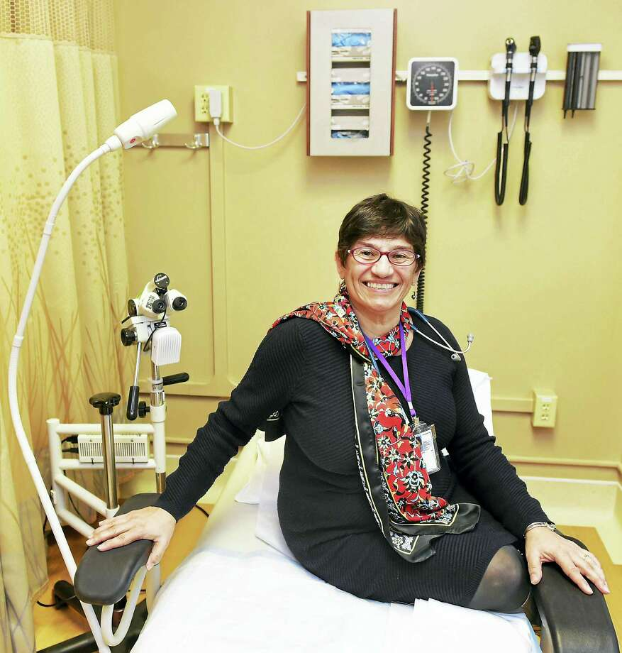 Dr. Luz Vasquez, women's health director at the VA Connecticut Medical Center in her West Haven office. Photo: PETER HVIZDAK — NEW HAVEN REGISTER  / ?2016 Peter Hvizdak