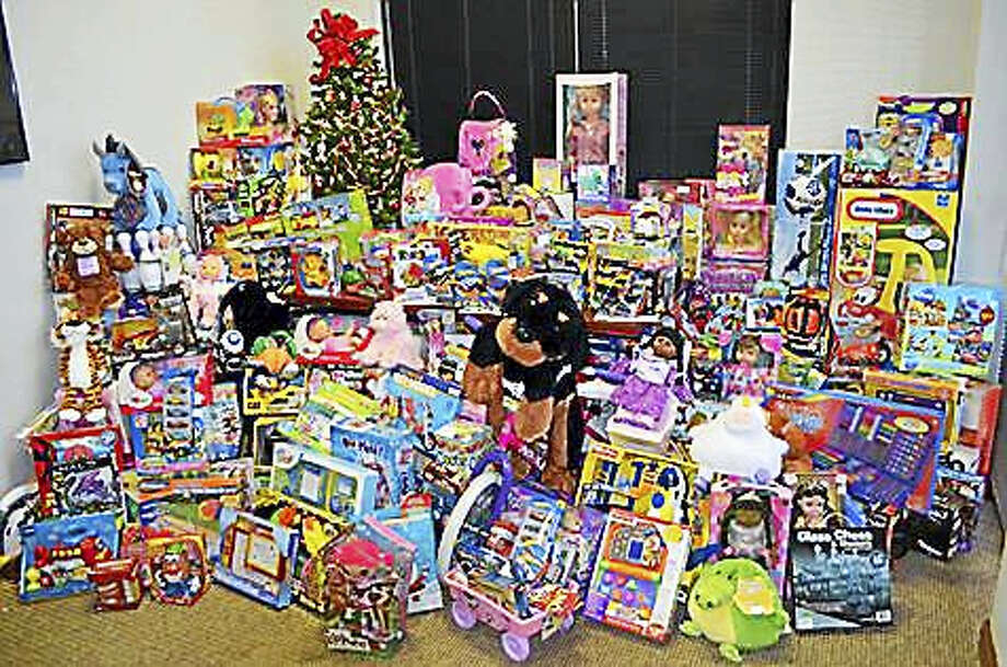 Connecticut State Police are hoping residents will take part in their holiday toy drive by dropping off gifts at troop locations throughout the state. Photo: Contributed Photo