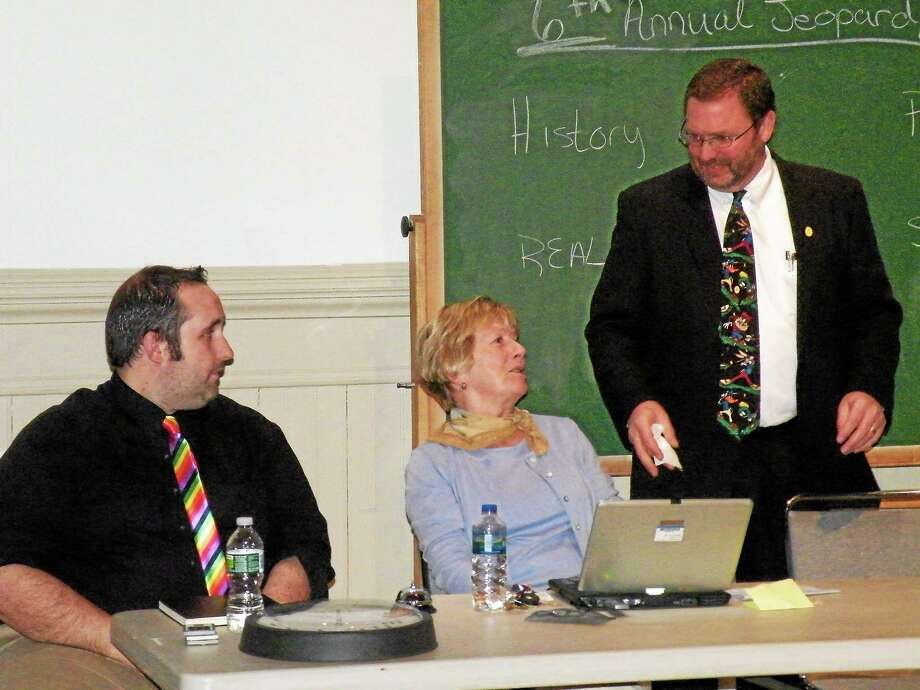 A previous year's Jeopardy Club Challenge at NCCC in Winsted. Photo: Submitted Photo